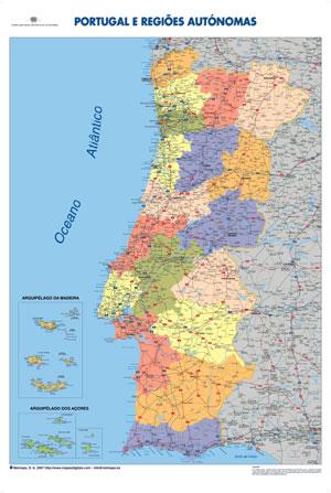 mapa de portugal com concelhos e freguesias Lista Completa dos Concelhos e das Freguesias de Portugal  mapa de portugal com concelhos e freguesias